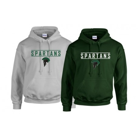 AFC Spartans - Text Logo Hoodie 3
