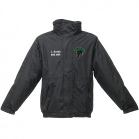 AFC Spartans - Custom Embroidered Heavyweight Dover Rain Jacket