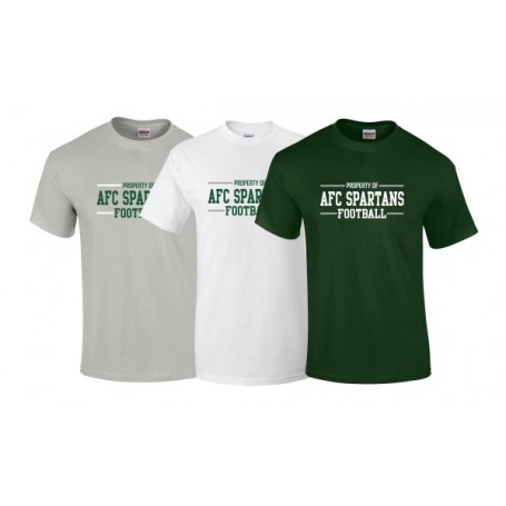 AFC Spartans - Text Logo T-Shirt 2
