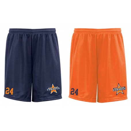 Craigavon Cowboys - Customised Embroidered Mesh Shorts