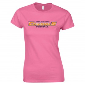 Craigavon Cowboys - Cowgirls Text Logo Women's Fit T-Shirt