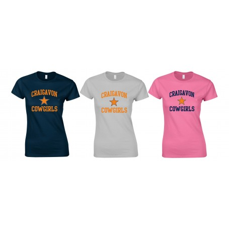 Craigavon Cowboys - Cowgirls Football Women's Fit T-Shirt