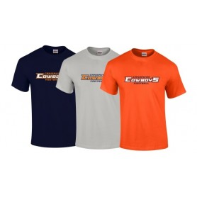Craigavon Cowboys - Text Logo T-Shirt 1
