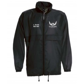 Bedford Blackhawks - Lightweight College Rain Jacket