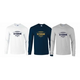 Swindon Storm - Laces Logo Long Sleeve T Shirt