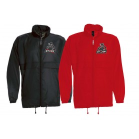 Darlington Steam - Lightweight College Rain Jacket