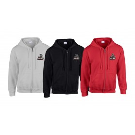 Darlingtom Steam - Embroidered Zip Hoodie