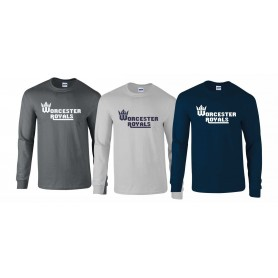 Worcester Royals - Club Text Long Sleeve T-Shirt