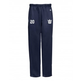 Worcester Royals - Embroidered Badger Open Bottom Joggers
