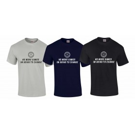 Peak Fitness - No More Games T-Shirt