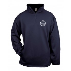Peak Fitness - Embroidered Poly Fleece 1/4 Zip Pullover
