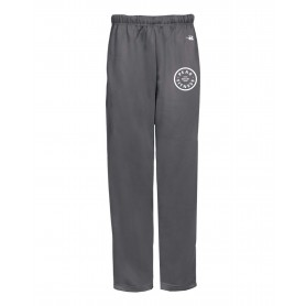 Peak Fitness - Embroidered Badger Open Bottom Joggers