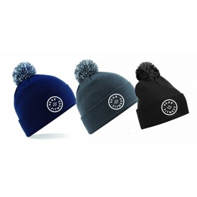 Peak Fitness - Embroidered Bobble Hat