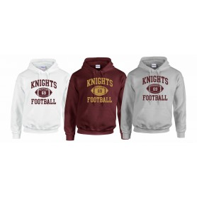 Northants Knights - Custom Ball Logo 1 Hoodie