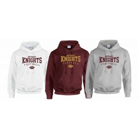 Northants Knights - Custom Ball Logo 2 Hoodie