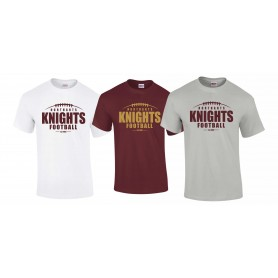Northants Knights - Laces Logo T-Shirt