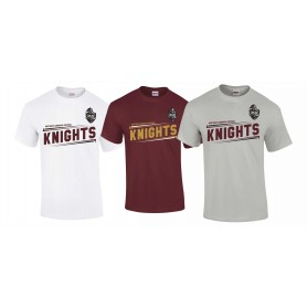 Northants Knights - Slanted Text T-Shirt