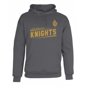 Northants Knights - Printed Badger Poly Fleece Hoodie