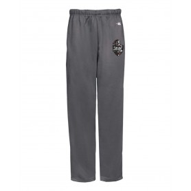 Northants Knights - Embroidered Badger Open Bottom Joggers