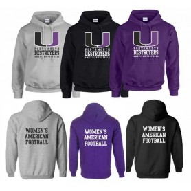 Portsmouth Destroyers - Women's Football Hoodie