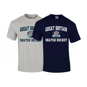 BiSHA - GB Skater Hockey Logo T-Shirt