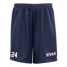 BiSHA - Embroidered Mesh Shorts