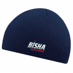 BiSHA - Embroidered Beanie Hat