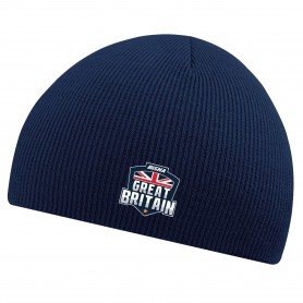 BiSHA - GB Embroidered Beanie Hat