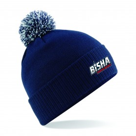 BiSHA - Embroidered Bobble Hat