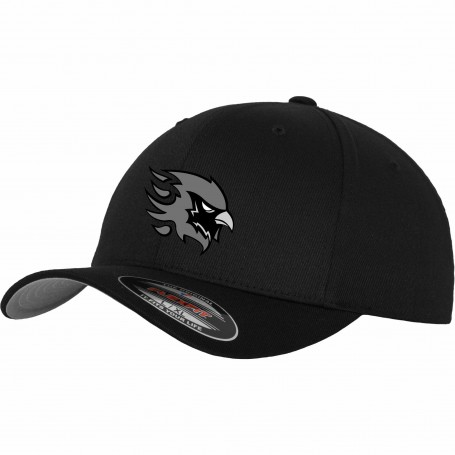Tamworth Phoenix - Gray Embroidered Flex Fit Cap