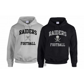 Knottingley Raiders - Football Logo Hoodie