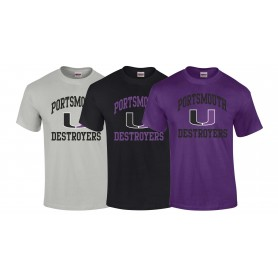 Portsmouth Destroyers - Women's Fit Portsmouth Football T Shirt