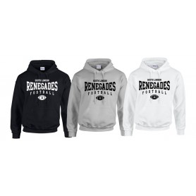South London Renegades - Custom Ball Logo Hoodie 2