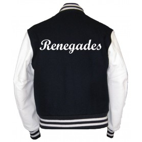 Embroidered Varsity Jacket