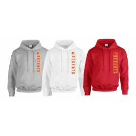 Kings College - Vertical Text Logo Hoodie