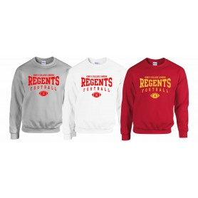 Kings College - Custom Ball Logo Sweatshirt 2