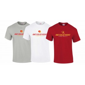 Kings College - Text Logo T-Shirt 1