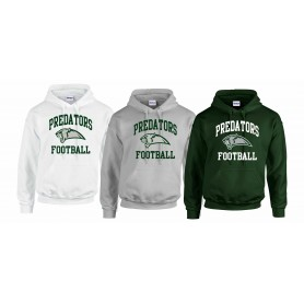 Edinburgh Predators - Football Logo Hoodie