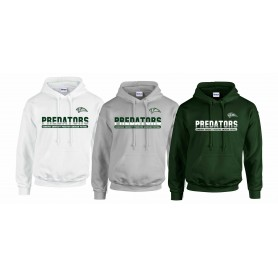 Edinburgh Predators - Athletic Split Text Logo Hoodie