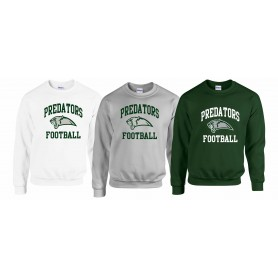 Edinburgh Predators - Football Logo Sweatshirt