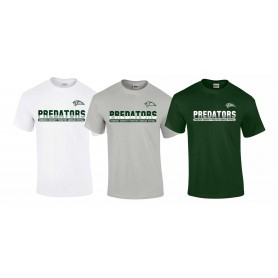 Edinburgh Predators - Athletic Split Text Logo T-Shirt