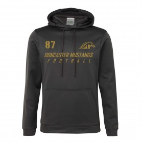 Doncaster Mustangs - Sports Performance Football Logo Hoodie