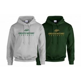 Doncaster Mustangs - Text Logo Hoodie