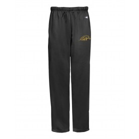 Doncaster Mustangs - Embroidered Badger Open Bottom Joggers