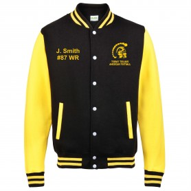 Torbay Trojans - Embroidered Varsity Jacket
