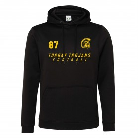 Torbay Trojans - Sports Performance Football Logo Hoodie