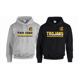 Torbay Trojans - Athletic Split Text Logo Hoodie