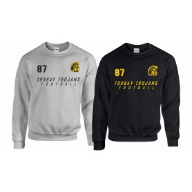 Torbay Trojans - Custom Text Sweatshirt