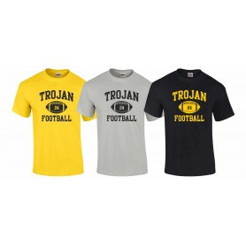 Torbay Trojans - Custom Ball Logo 1 T Shirt