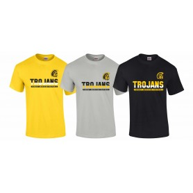 Torbay Trojans - Athletic Split Text Logo T Shirt